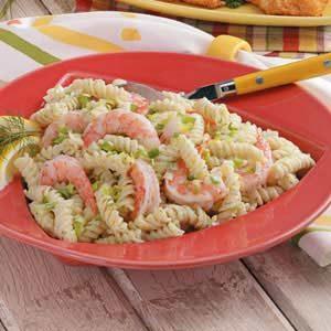 Rotini with Shrimp