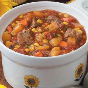 Slow Cooker Vegetable Beef Stew