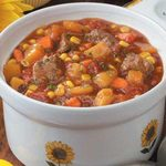 Slow Cooker Vegetable Beef Stew