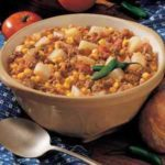 Southwestern Meat and Potato Stew