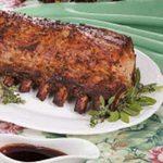 Pork Loin with Currant Sauce