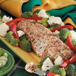 Smoky Sesame Cheese Log