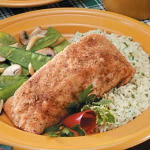 Crumb-Coated Salmon