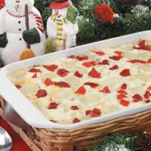 Cheesy Potatoes 'n' Peppers