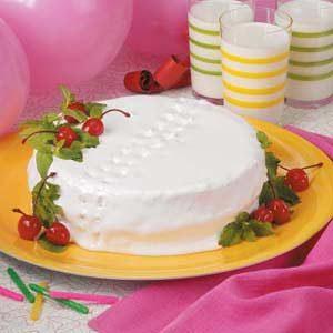 Maraschino Party Cake