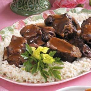 Short Ribs with Plums