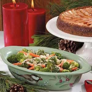 Crumb-Topped Broccoli Medley