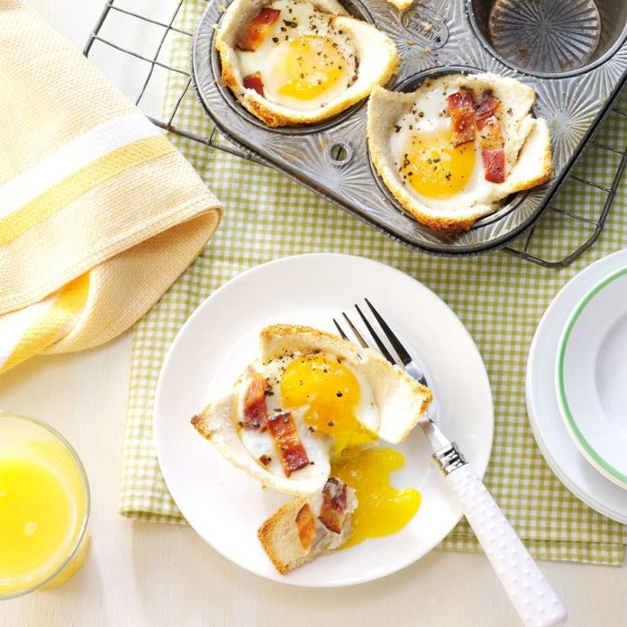 New York: Maple Toast and Eggs