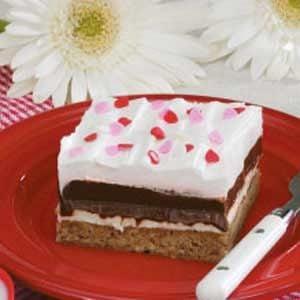 Crunchy Chocolate Pudding Squares
