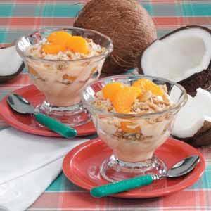 Orange Crunch Yogurt
