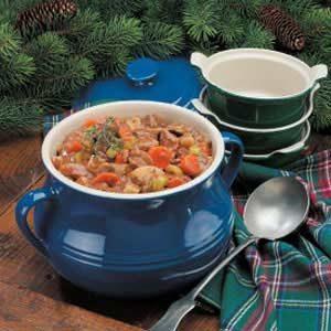 Slow-Cooked Vegetable Beef Stew