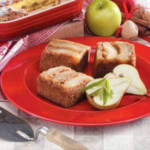Pear Gingerbread Cake
