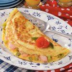 Fresh Salmon Omelet