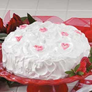 Sweetheart Red Cake