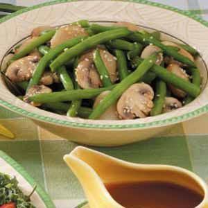 Sesame Green Beans 'n' Water Chestnuts