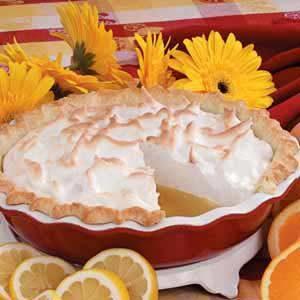 Citrus Meringue Pie