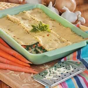 Spinach Vegetable Lasagna