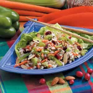 Asian Bulgur Rice Salad