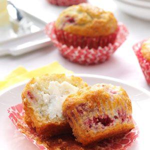 Berry Cream Muffins