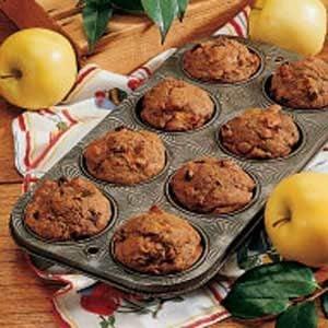 Apple Bran Muffins