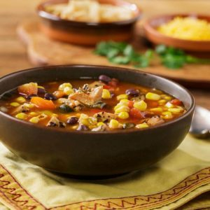 Johnsonville® Flame Grilled Southwestern Chicken Soup