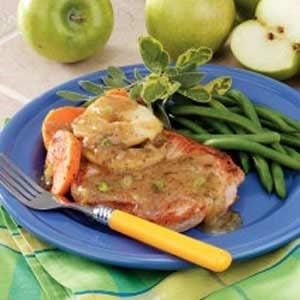 Butterflied Pork Chop Dinner