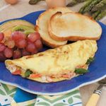 Asparagus Crab Omelets
