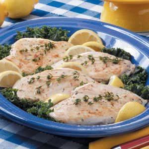 Easy Lemon Herb Chicken