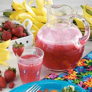 Cran-Strawberry Cooler