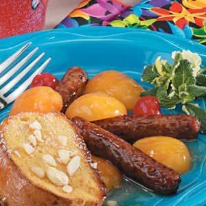 Apricot Sausage Links