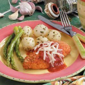 Baked Chicken Parmigiana