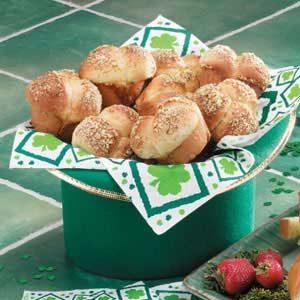 Parmesan Cloverleaf Rolls
