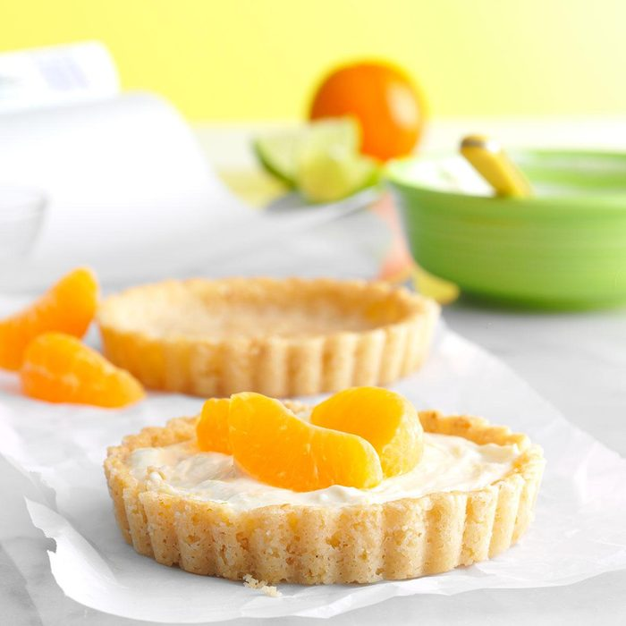 Citrus Cream Tartlets