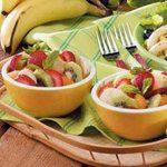 Honey Lime Fruit Toss