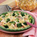 Broccoli Shrimp Pasta Toss
