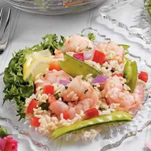 Sesame Shrimp Rice Salad
