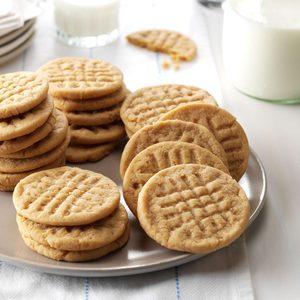 Low-Fat Peanut Butter Cookies