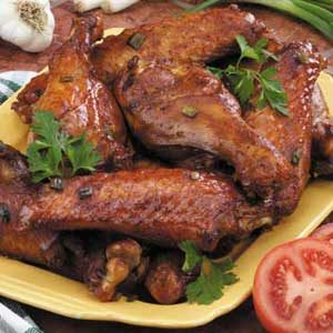 Barbecue Turkey Wings