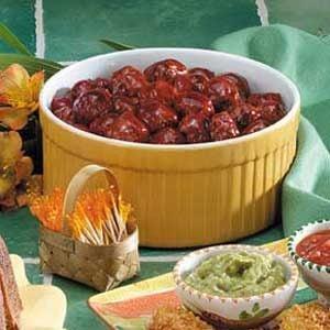 Saucy Cherry Meatballs