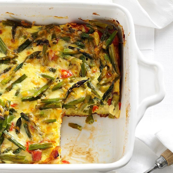 Day 16: Overnight Asparagus Strata