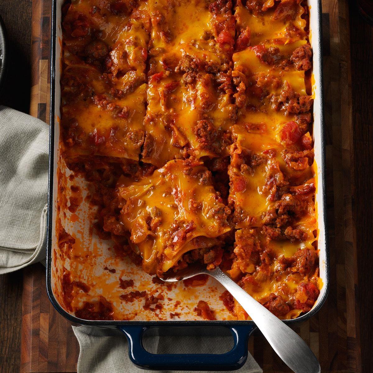Bacon-Colby Lasagna