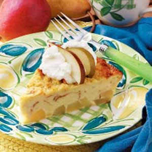 Bread Pudding Pear Pie