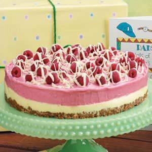 Two-Tone Sherbet Torte