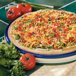 Contest-Winning BLT Pizza