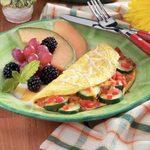 Veggie Cheese Omelet