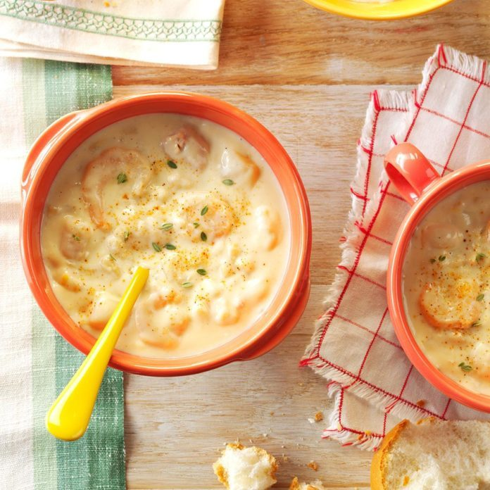 Louisiana: Shrimp Chowder
