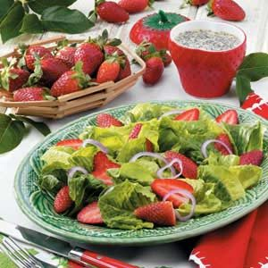 Strawberry Romaine Salad