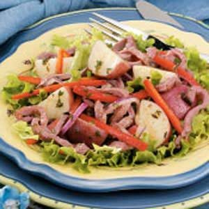 Roast Beef Potato Salad