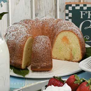 Pastel Pound Cake