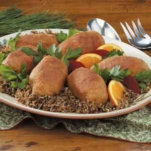 Garlic Crab-Stuffed Chicken